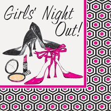 Girls Night Out Cocktail Napkins, 16ct